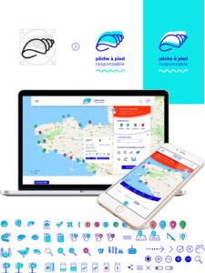 """refonte web et mobile de """"pêche à pied responsable"""""""