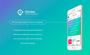 Aperçu de la refonte mobile de la CCI Store