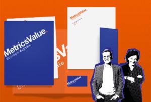 Refonte globale identitaire pour Metrics Value
