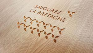 """Refont du logo de """"Savourez la Bretagne"""""""